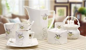 Coffee Set certificated bone china tea sets manufacturer and exporter