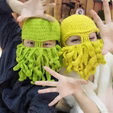 halloween party funny 2017 halloween party funny squid hat handmade knitting wool