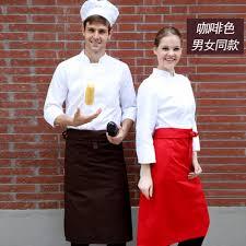aliexpress buy hotel restaurant white chef large apron