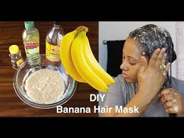 banana for hair your hair will grow like banana hair mask