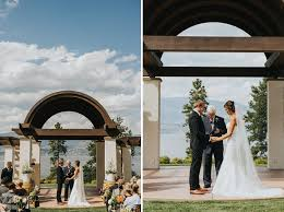 wedding arch kelowna cedar creek estate winery wedding karli ruben barnett