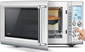 Microwave With Toaster Oven Breville Quick Touch Crisp Microwave Oven Bmo700bss