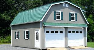 24x36 Garage Plans by 2 Car Garage Loft Plan 007g 0004prefab Detached U2013 Venidami Us