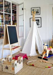 accessories cute white fabric kid teepee as furniture for kid