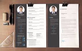 modern curriculum vitae template the best cv resume templates 50 exles design shack
