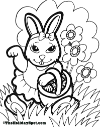 free easter coloring pages print theotix