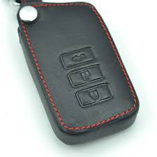 lexus es accessories leather car key case fold key cover for lexus gx460 es250 es350