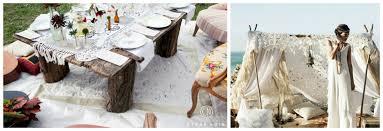 mariage hippie idée déco mariage hippie chic le de modern confetti