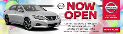 nissan innovation that excites logo your nissan dealer in ottawa myers barrhaven nissan