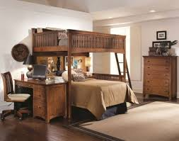 great wooden bunk bed with stair and storage bunk bed furniture