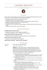 Sample Objective On Resume by Territory Sales Manager Resume Samples Visualcv Resume Samples