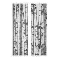 Leaf Curtains Ikea Ikea Anno Unni Curtain Panel Home Pinterest Birch