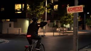 light cycling jacket commuter hi vis cycling jacket with led lights