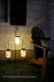 mason jar outdoor lights outdoor makeover simple and budget friendly mason jar lighting