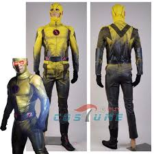 original halloween costumes men aliexpress com buy reverse flash tv series reverse flash leather