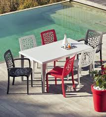 chaises grosfillex ensemble table et chaise de jardin grosfillex awesome ensemble
