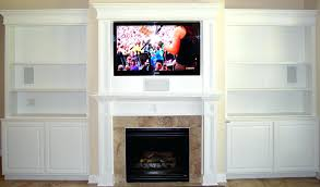 white oak fireplace interior brown mantel shelf rectangle black