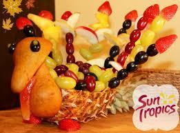 make your own fruit turkey suntropics
