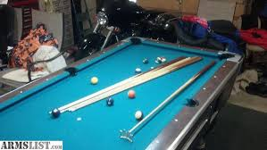 Valley Pool Table For Sale Armslist For Sale 7 U0027 Valley Pool Table