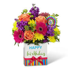 flowers birthday the ftd birthday brights bouquet