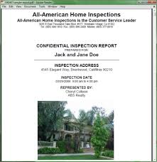 sample house inspection report sample home inspection report for your kootenai county home