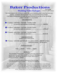 wedding videography prices videographer prices for wedding tbrb info