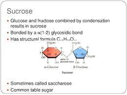 Table Sugar Formula Section 1 1 Molecules