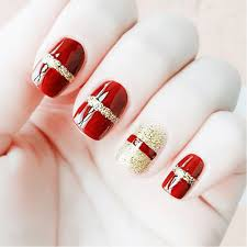 compare prices on red gold false nails online shopping buy low