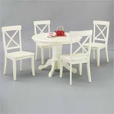 Dining Room Stylish Round Pedestal Table And Chairs Bistro In - Antique white pedestal dining table