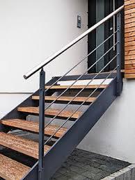 treppen im au enbereich treppe für draussen haus wood composite concrete