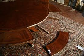 round dining table perimeter leaves perimeter table round dining table w perimeter leaves oversized