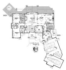 luxurious home plans 5 bedroom 4 5 bath sleeps 14 floor plans golf course sunriver