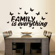 wall stickers wall decals family is everything english words photos
