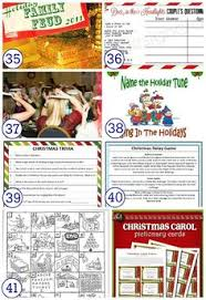 Christmas Games For Party Ideas - 30 perfect christmas games for families 30th gaming and holidays