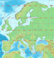 Latitude Map Of The World by Maps Map Of Europe With Latitude And Longitude