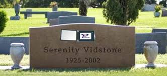 gravestone maker tributes digital obituary news science fiction in the news