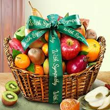 how to make a fruit basket with sympathy fruit basket aa4000s a gift inside