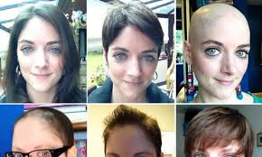 how to grow out hair after cancer my hair journey after chemotherapy woman 31 makes timelapse
