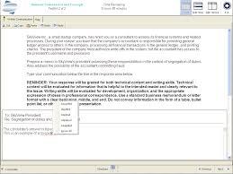 essay test sample cpa exam written communication roger cpa review cpa exam written communication