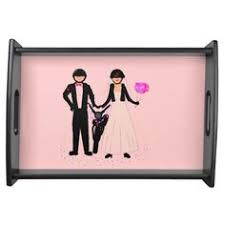 wedding serving trays wedding photo collage serving tray weddings