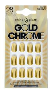 china glaze launches pre glued chrome tips