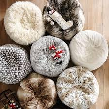 Pottery Barn Kids Bean Bag Chairs Ivory Furlicious Faux Fur Beanbags Pbteen