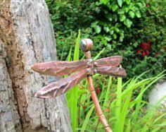 copper dragonfly garden ornament 12 00 hage garden