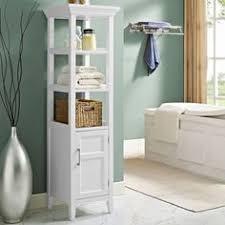 Bathroom Linen Storage by Bathroom Stand Bath Linen Tower Storage White Home Organizer