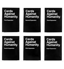 cards against humanity black friday amazon cards against humanity expansion packs 1 6 games we own pinterest