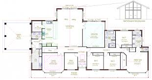 Simple Floor Plans With Dimensions Rectangle House Plans Withal Architecture Rectangular House Plans