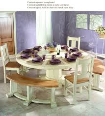 Kitchen Table Round by French Country Oak Round Dining Table Round Table 200cm With