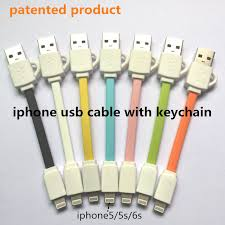 porta iphone 5 auto riphoneappler usb cable with keychain charging data applicable