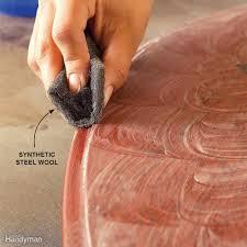 wood finishing tips family handyman