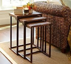 small nest of tables granger reclaimed wood nesting tables tables nest and small spaces